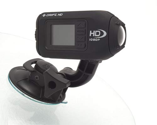 Drift's new HD helmet camera is 25% smaller than the previous version