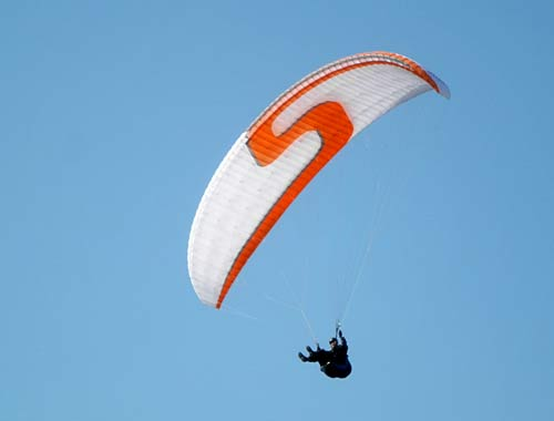 The Antea 2 is Sky's new EN C paraglider