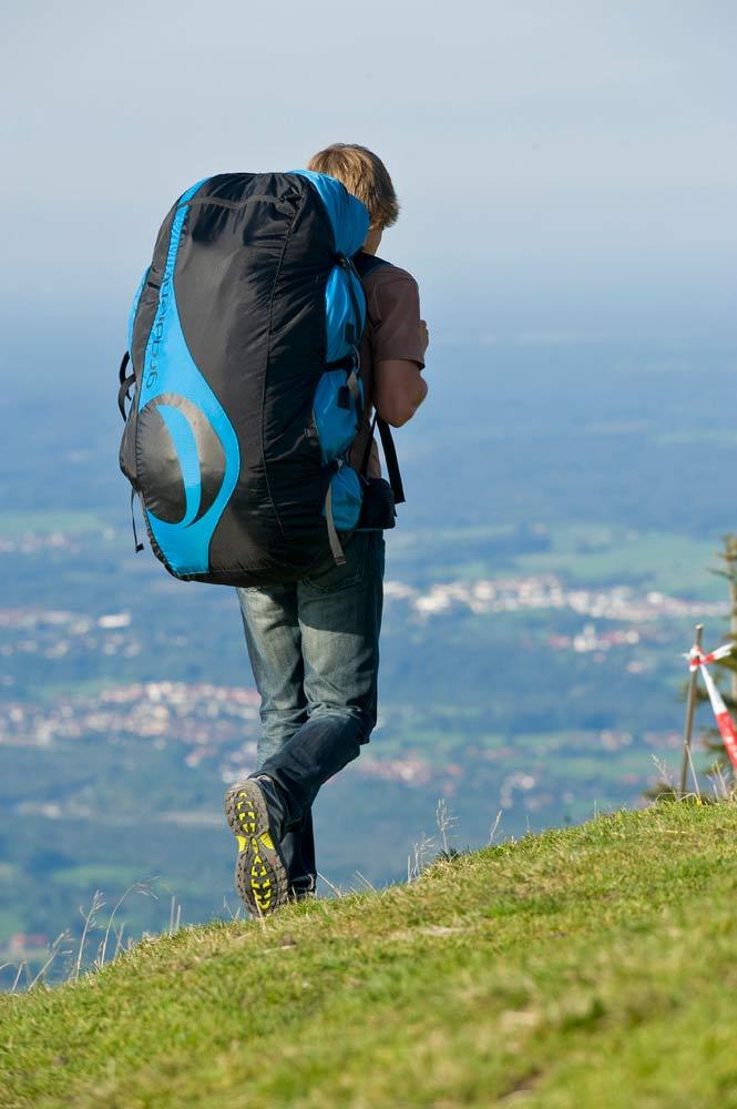 Gradient's new paraglider rucksack