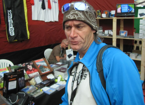 Philippe Broers, the Paragliding World Cup Association's in-house movie maker