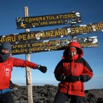 South African team first to 'officially' fly off Kilimanjaro
