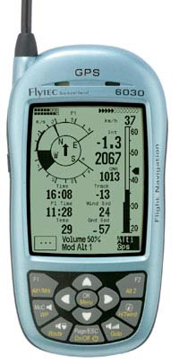 The Flytec 6030 flight instrument