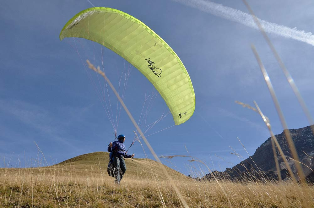 Little Cloud's new mountain paraglider, the Kagoo