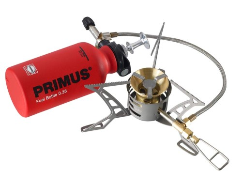 The new OmniLite Ti multifuel expedition stove from Primus will be available in Spring 2012