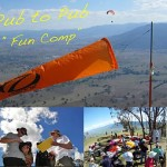 Pub to pub paragliding competition
