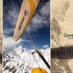 El Speedo 2012 paragliding calendar