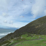 Men deny shooting at paragliders