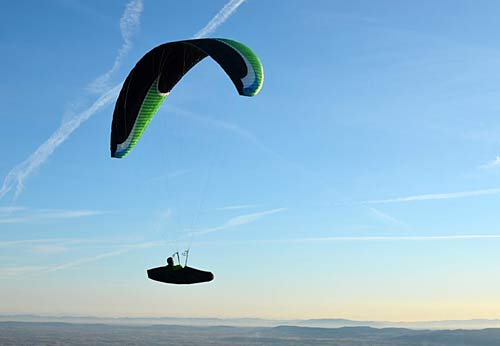 Niviuk's new EN D paraglider for 2012, the Icepeak 6