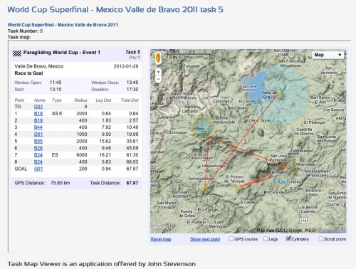 PWC Superfinal 2011 task five. Click to go to Task map Viewer