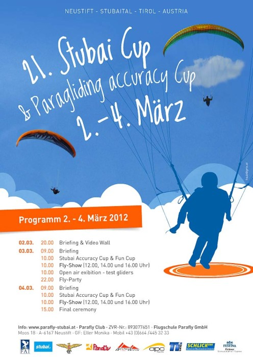 Stubai Cup and Testival 2012 poster