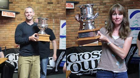 Gareth Carter and Kirsty Withecombe become Australian Paragliding Champions 2012