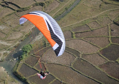 Dudek's new EN B paraglider, the Optic
