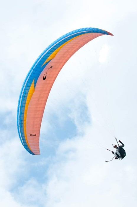 Sol's new EN B paraglider, the Ellus 4