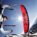 U-Turn's 2012 professional acro paraglider: the Thriller 2K12
