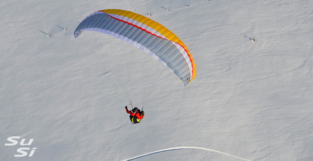 SuSi is AirDesign's new multi-purpose mini paraglider