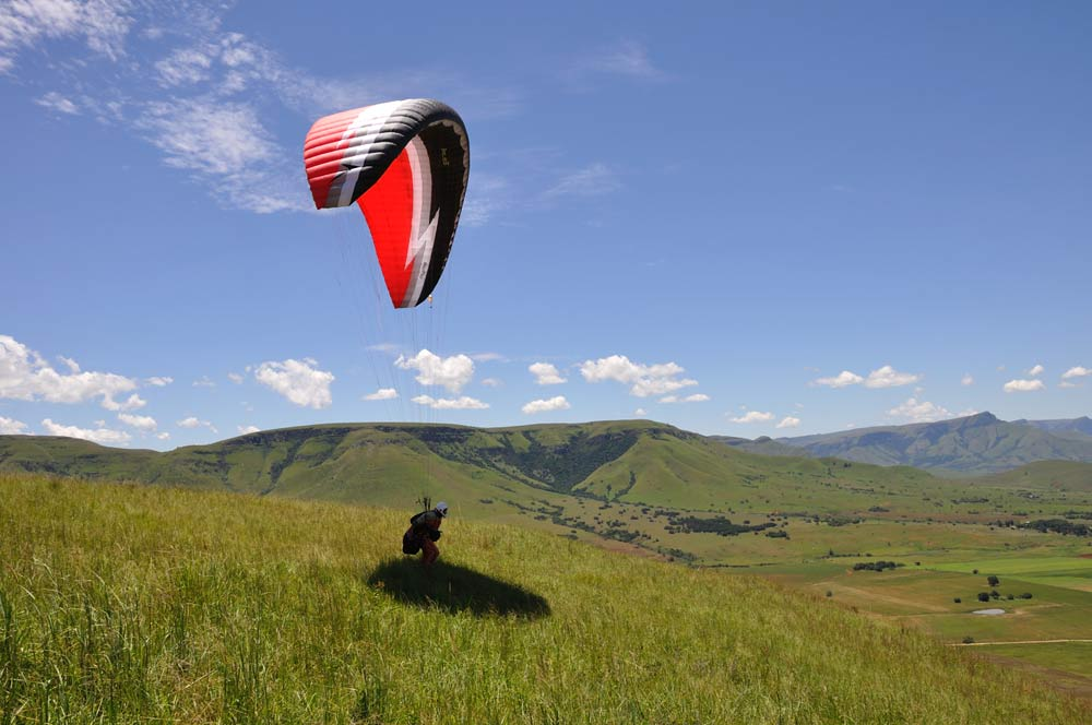 The popular hang gliding and paragliding site of Bambi in South Africa is for sale
