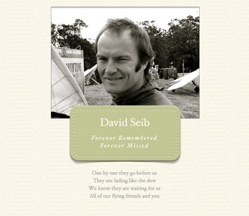 David Seib remembered