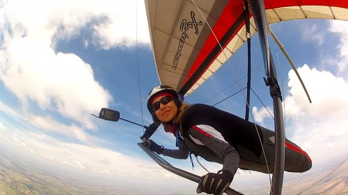 Moyes Litespeed RX3 competition hang glider for pilots of 50kg upwards