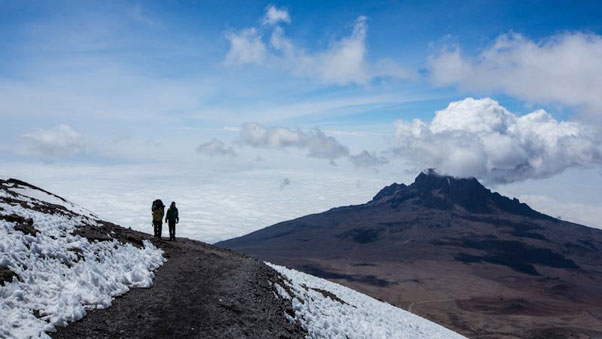 View from the top. Photo: Wings of Kilimanjaro