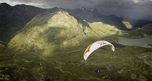 Red Bull X-Alps 2013 ... coming to a computer screen near you soon. Photo: Red Bull X-Alps