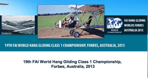 Hang Gliding World Championships 2013: 7-18 January 2013
