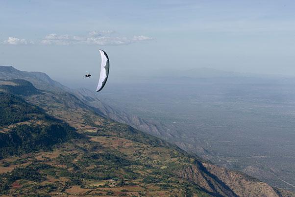 Greg Knudson in Kerio Valley, Kenya. Photo: Felix Woelk