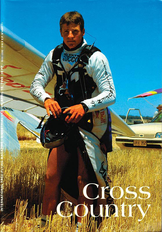 Guido Gehrmann, on the cover of Cross Country magazine in 1998