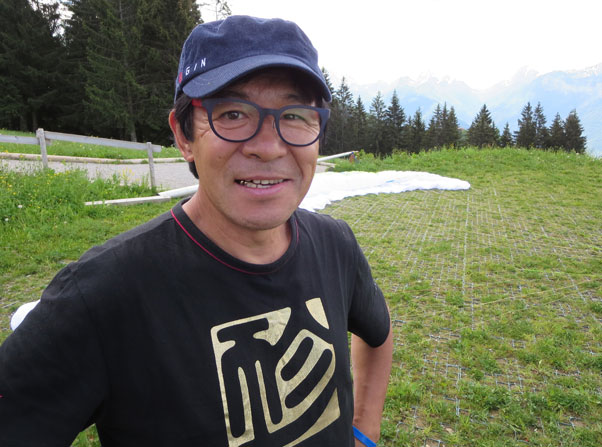 GIN designer Gin Seok Song in Annecy on Saturday 14 June 2013. Photo: Ed Ewing