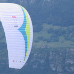 Red Bull X-Alps 2013: GIN's glider on first test flight