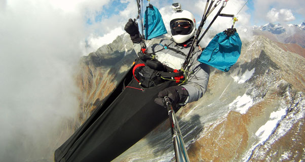 Alexey Druzhinin in the Indian Himalaya