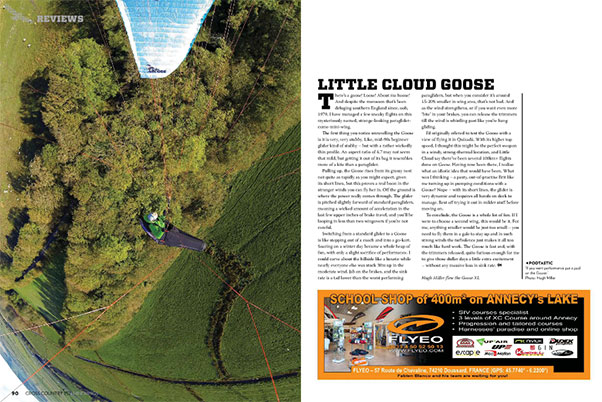 Little Cloud Goose: Miniwing review