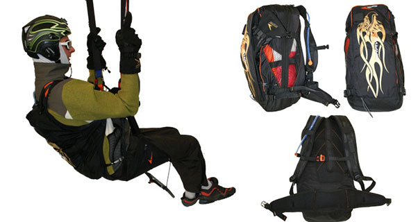 Swing Brave 3 paragliding harness