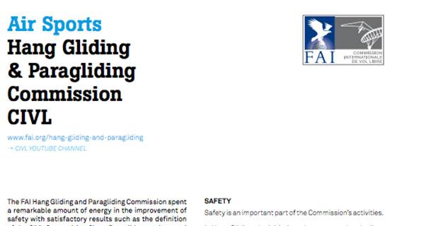 FAI Air Sports Report 2013