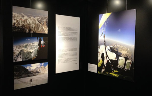 Chamonix Photo Exhibition: High Mountain Paragliding
