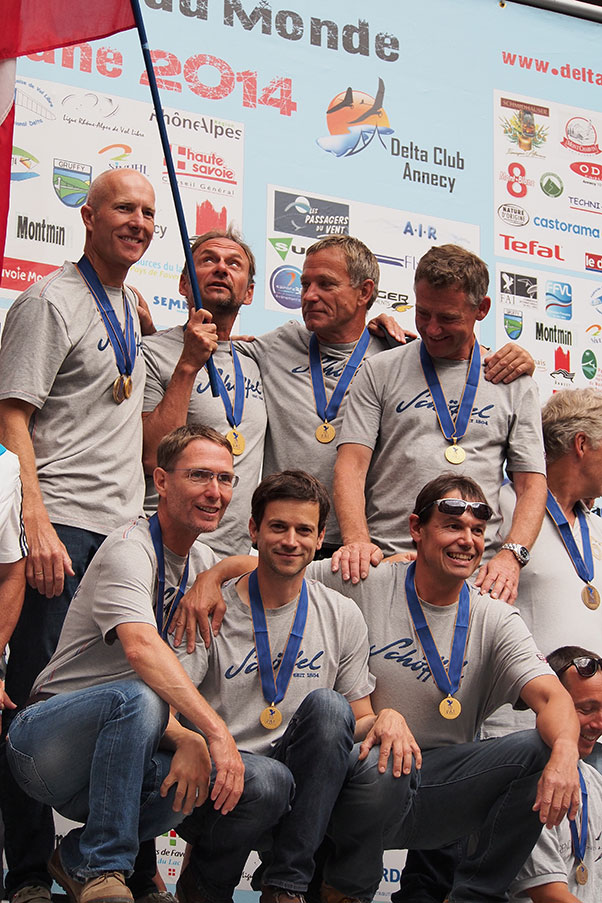 Austria Class-5 winning team. Photo: Richard Sheppard