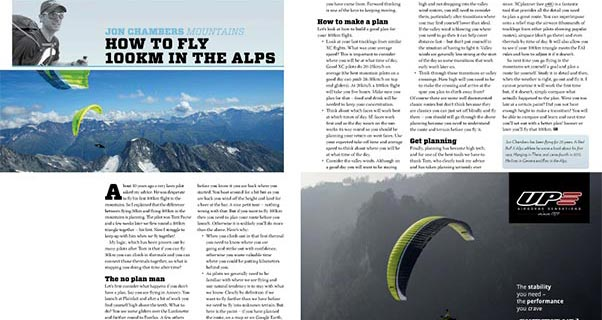 Fly 100km in the mountains: Jon Chambers on planning your route