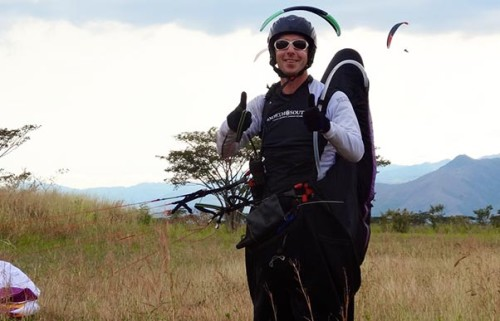 Guy Anderson: 'Why I love flying paragliding comps'