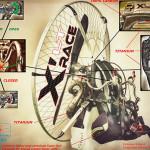 Adventure X-Race LT: lightweight paramotor