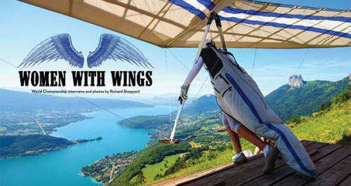 Women with Wings: Hang Gliding Worlds 2014