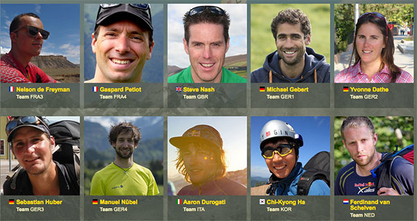 Red Bull X-Alps 2015: Athletes revealed