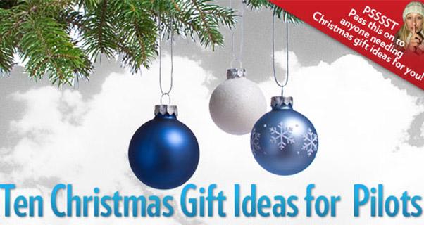 Dear Santa ... Top 10 gifts for free-flight pilots