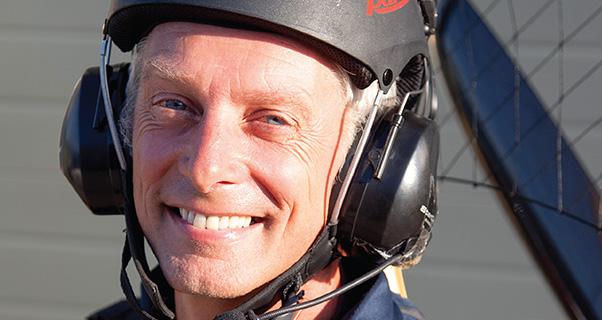 Dean Eldridge: Paramotoring author Q&A
