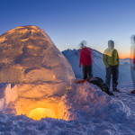 Hike-and-fly: Igloo-style