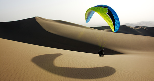 Ozone Rush 4, EN B: Paraglider review