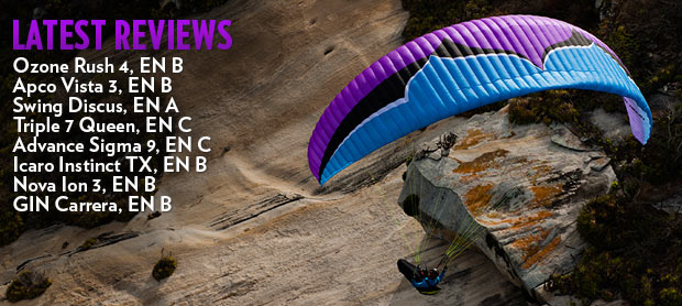 Paraglider reviews