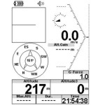 Flymaster SD firmware upgrade: new magnetic compass