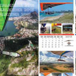 Hang gliding calendar 2015 now on sale
