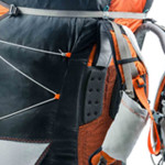 Kortel Kolibri paraglider backpack for serious hikers
