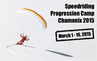 Speedriding progression camp Chamonix, France @ Chamonix | Rhone-Alpes | France