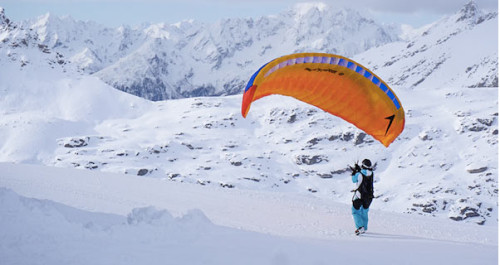 Swing's latest speedriding wing – the Spitfire 2